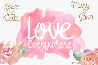 Love Everywhere Font