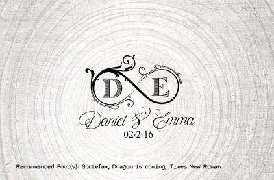 Infinity Wedding Logo-Wedding Monogram