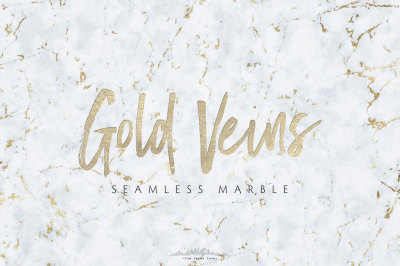 Seamless Marble Textures with Gold Veins