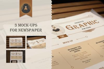 Mock-Up newspaper Vol.1