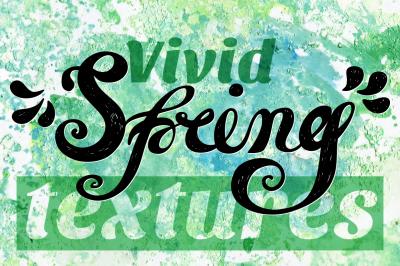 Vivid SPRING Textures