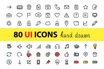 80 UI icons