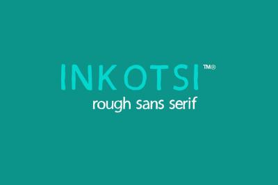Inkotsi - Rough Sans Serif