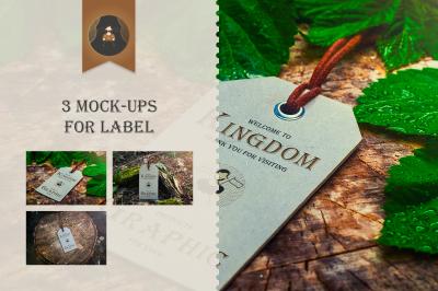 Mock-Up Label Vol.1