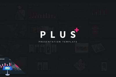 Plus - Simple Creative Keynote Template