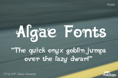 Algae Fonts - Fantasy