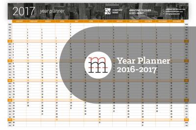 Year Planner 2016-2017