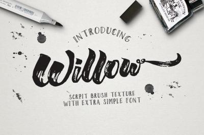 Willow Brush Texture