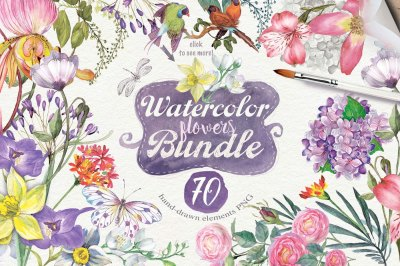 70 BEST summer flowers +Jasmine SET 15 PNG