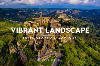 Vibrant Landscape Photoshop Actions