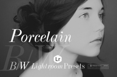 Porcelain BW Lightroom Presets