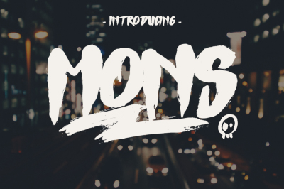 Mons Typeface
