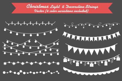 Christmas Light & Decoration strings