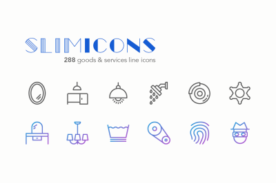 Goods & Services Icons