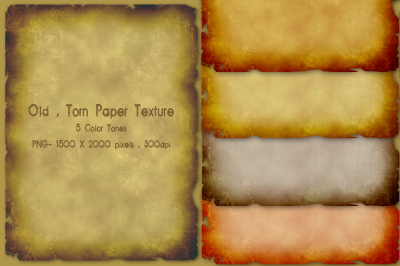 Old Torn Paper Texture