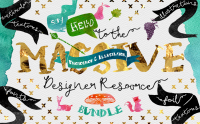 Digital Graphic Designer Resource Bundle