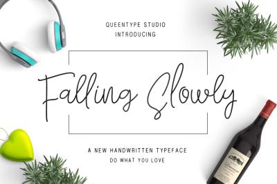 Falling Slowly Typeface