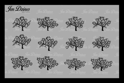 Heart Family Tree Bundle SVG DXF EPS PNG