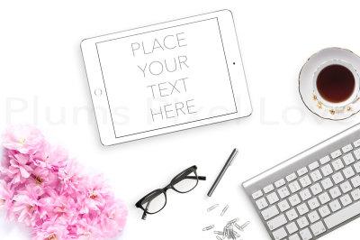 Styled desktop stock photography