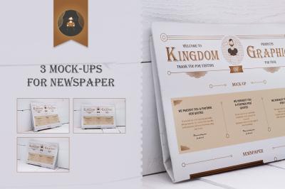 Mock-Up newspaper Vol.2