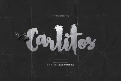 Carlitos | Grunge Script