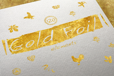 120 Gold Foil Elements + Free Bonus