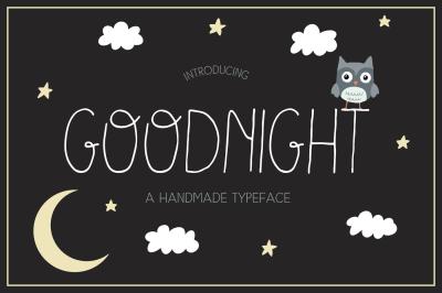 Goodnight  Typeface