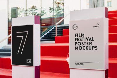 Film Festival Poster Mock-Ups 2