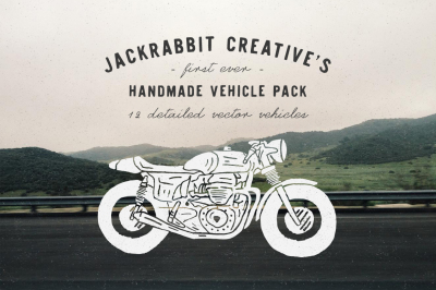 Handmade Vehicle Pack - Vector