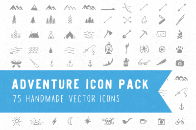 Adventure Icon Pack - Vector