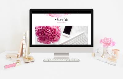 Flourish - Genesis Wordpress Theme