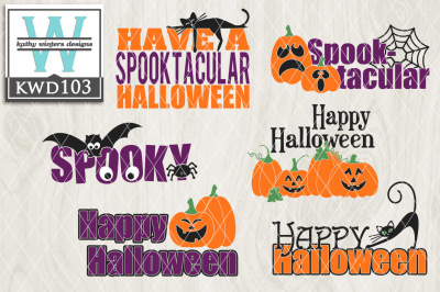 22+ Halloween Cutting File Kwd162A PNG