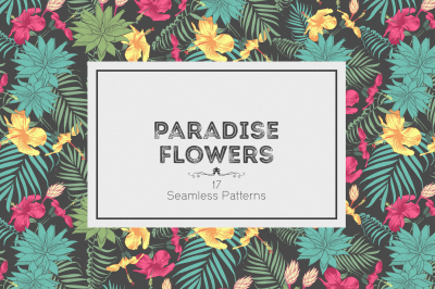Paradise Flowers Patterns