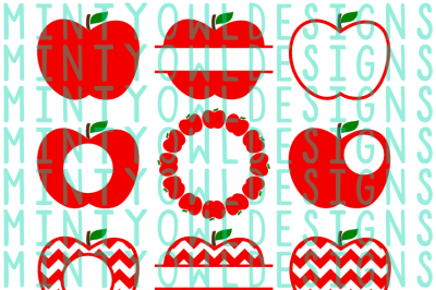 Apple SVG Set