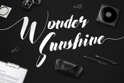 Wonder Sunshine + Long Swashes
