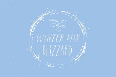 Winter Mix Blizzard