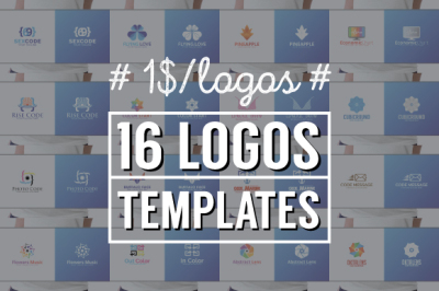 16 Logos Templates - v1