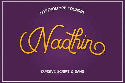 Nadhin Script & Sans