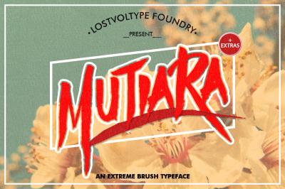 Mutiara Typeface
