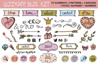 Ultimate DIY blog kit