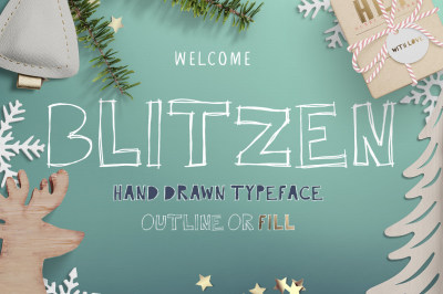 Blitzen Display Font