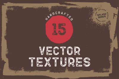 15 Handcrafted Grunge Textures