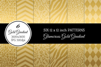 6 Glamorous Gold Patterns