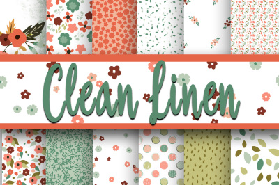 Clean Linen Digital Paper
