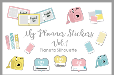 My Planner Stickers Vol 1 - .PNG