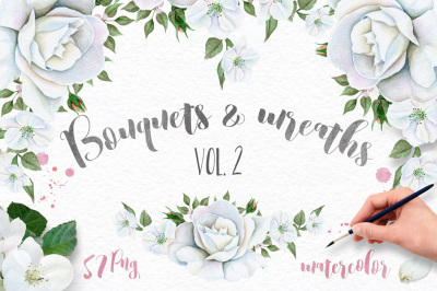 SALE! Wreaths and Bouquets collection. Vol.2
