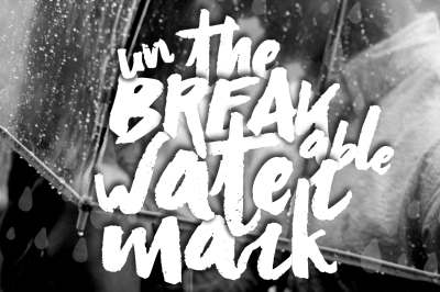 Unbreakable Watermark for Graphics/Photos