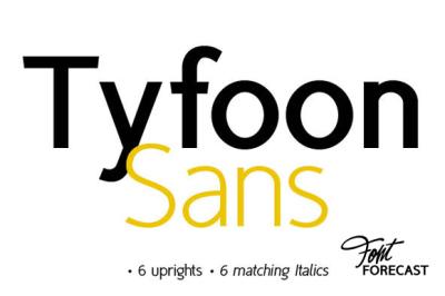 Tyfoon Sans