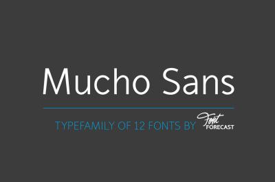 70% OFF!Mucho Sans