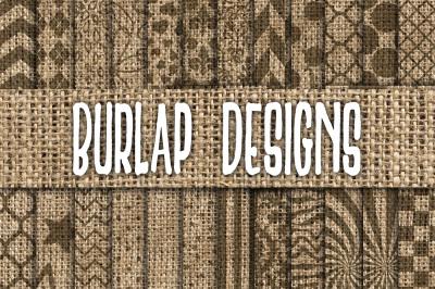 Burlap Designs Digital Paper Textures